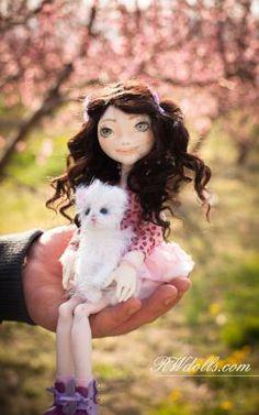 Violet and Mimi | Romantic Wonders Dolls