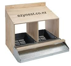 Image result for roll away chicken nest box plans