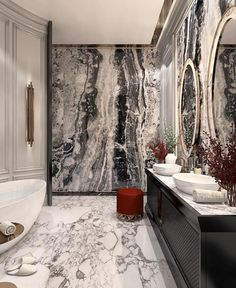 Interior Decorating Made Fun And Easy – Marble Bathroom Dreams Interior Design Colleges, Best Interior Design, Home Interior, Home Design, Design Room, Tuscan Decorating, Interior Decorating, Decorating Tips, Home Decor Instagram