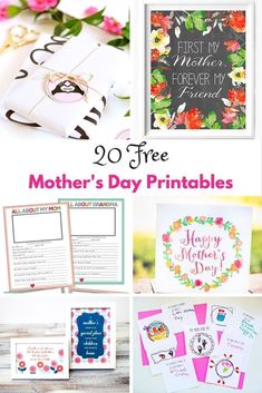 Beautiful free Mother's Day printables. Celebrate the most special person in your life with these stunning selection of free printables for Mother's Day. Mothers Day Decor, Homemade Mothers Day Gifts, Mothers Day Gifts From Daughter, Unique Mothers Day Gifts, Mothers Day Crafts For Kids, Mothers Day Flowers, Mothers Day Cards, Mother Day Gifts, Happy Mothers Day