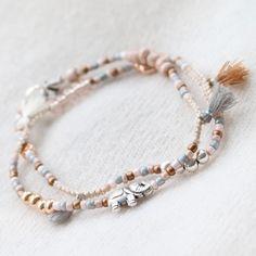 Feine, minimalistische und sommerliche Inspiration mit neuen Rocailles