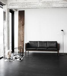 Hans Wegner sofas CH162 / CH163, Carl Hansen