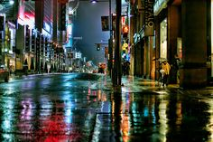 late night stroll