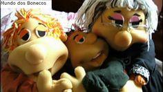 Mundo dos Bonecos: MOLDES PARA FANTOCHES DE ESPUMA