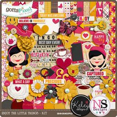 Enjoy The Little Things - Collab Neia Scraps & Keley Designs