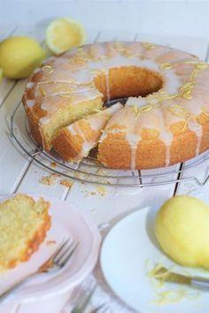 Zitronen Buttermilch Kuchen Rezept Kuchen Buttermilchkuchen Und Lecker Backen