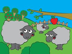 Children's iPad App, Puzzle Farm - very simple puzzle app for pre-school and Kinder kids.