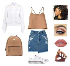 """Still got time!☁"" by lola-creates on Polyvore featuring TIBI, Miss Selfridge, Converse, T By Alexander Wang and Lime Crime"