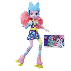 My Little Pony Equestria Girls Pinkie Pie Sporty Style Roller Skater Doll