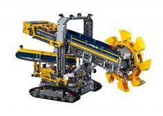 Da werden Kindheitsträume wahr. Über 70 cm lang und 40 cm hoch. Dies sind die Ausmaße des neusten LEGO-Technic-Sets, welches ab August verfügbar ist: ein Schaufelradbagger im XXL-Format...