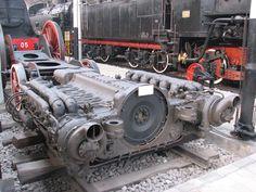 "supplyside: ""The open crankcase and crankshaft of a Wärtsilä-Sulzer 12 cylinder marine diesel "" Marine Engineering, Engineering Tools, Mechanical Engineering, Locomotive Engine, Diesel Locomotive, Crate Engines, Sci Fi Models, Motor Engine, Heavy Machinery"
