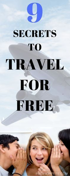Love to travel but you can't seem to find anything in your budget? Travel can be completely affordable, well free in fact! This article will have you quenching your wanderlust in no time and traveling to amazing destinations for FREE