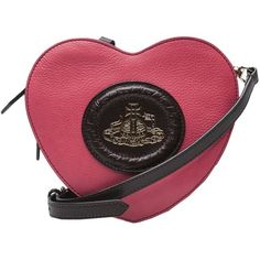 Vivienne Westwood Heart Purse ($360) ❤ liked on Polyvore