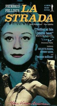 La Strada (1954) - Federico Fellini. Mrs. Beccaria's favorite Fellini film | The House of Beccaria