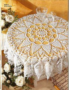 Kira crochet: Crocheted motif no. 424