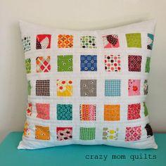 64/101 flea market fancy fabric pillow