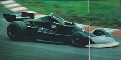 1976 Fuji test  Masahiro HASEMI - Kojima Engineering - Kojima KE007 - Ford
