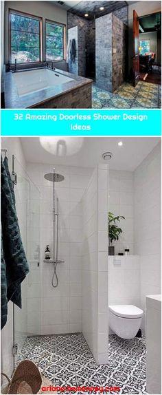 Bathroom Remodel Shower Doorless Ideas Amazing Doorless Shower Design Ideas Amazing doorless shower design ideas 14 Get more photo abou. Shower Remodel, Bathtub, Design Ideas, Bathroom, Amazing, Modern, Standing Bath, Washroom, Bathtubs