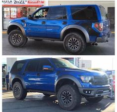 This would make the Ford Expedition rock. Ford Raptor Truck, Ford Pickup Trucks, Ford 4x4, Lifted Ford, 4x4 Trucks, Lifted Trucks, Lifted Dually, Ford Bronco Concept, Lincoln Suv