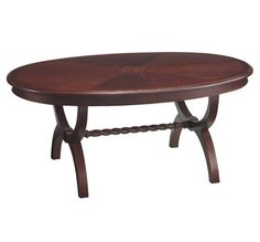 Bombay & Co, Inc. :: LIVING :: Coffee Tables :: Townsend Oval Coffee Table