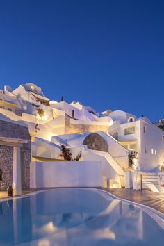 Santorini, greek.