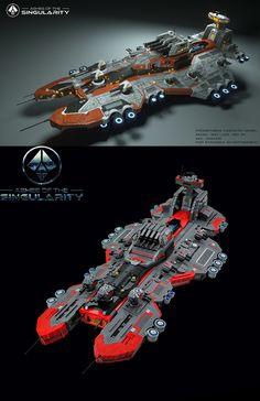 Lego Spaceship, Spaceship Design, Legos, Killzone Shadow Fall, Chasseur De Primes, Starship Concept, Lego Ship, Lego Craft, Lego Mecha