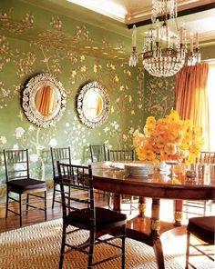 Chiavari Chairs in Dining Room