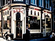 BABA Coffee Shop, Amsterdam, Times Square, To Go, Places, Travel, Coffee Shops, Coffeehouse, Viajes