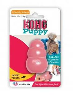 Puppy #Kong Classic Extra Small - @SpoiledPetCafe