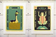 Tom Frost: new circus prints, smaller version of 'Waves Will Rise' and new large stamps and m...