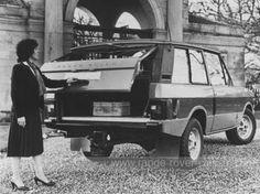 Range Rover 1970's - Alan Smith Ltd made this Donnington one-piece rear door conversion