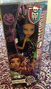 MONSTER HIGH Creepateria CLAWDEEN WOLF NEW Doll