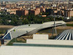 Pabellón Puente. Expo Zaragoza 2008. Zaha Hadid