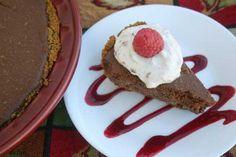 Heart Healthy Chocolate Pie via @Diabetic Foodie