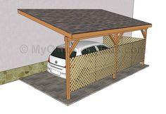 Attached Wood Carport Plans