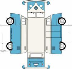 Bastelbogen VW Bus T1                                                                                                                                                      Mehr