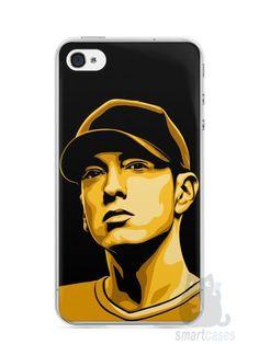 Capa Iphone 4/S Eminem #1 - SmartCases - Acessórios para celulares e tablets :)