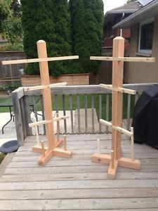 wood hockey equipment drying rack - Google Search