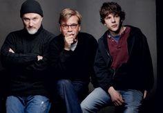 THE MISFITS by Annie Leibovitz - David Fincher, Aaron Sorkin, and Jesse Eisenberg