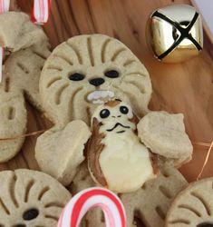 Star Wars The Last Jedi Holiday Hug Wookiee Cookies
