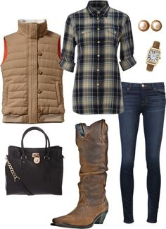 """""""casual winter outfit"""" by countryoutfitter on Polyvore"""