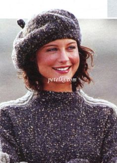 El pulóver con las trenzas para el muchacho, vinculado por los rayos - Cable and Rib Sweater with Hood by Debbie Bliss. Knitting Patterns, Crochet Patterns, Knit Crochet, Crochet Hats, Diy Hat, Felt Hat, Knitting Accessories, Ribbed Sweater, Fashion Sewing