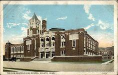 """""""The New Denfeld High School""""  1929 Jul-11   Duluth, MINN"""