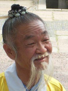 Stereotyp eines Chinesischen Gelehrten