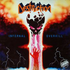 Destruction - Infernal Overkill #metal #thrash #album
