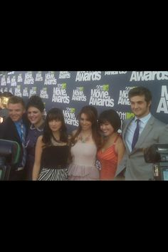 AWKWARD. the cast of my favorite show