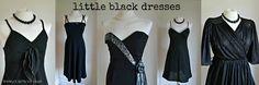 The Little Black Dress Girls Wardrobe, Every Girl, Lbd, Lineup, Formal Dresses, Shopping, Vintage, Black, Fashion