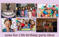 Some fun 13th Birthday Party Ideas on this awesome site