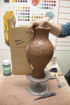 Large amphora raw steps 155