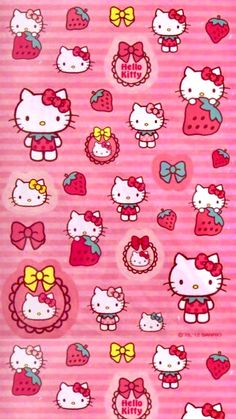 4k Wallpaper Android, Simple Iphone Wallpaper, Disney Phone Wallpaper, Aesthetic Iphone Wallpaper, Hello Kitty My Melody, Hello Kitty Cake, Sanrio Hello Kitty, Hello Kitty Pictures, Kitty Images